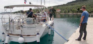 Szkolenie na dużym jachcie w Chorwacji
