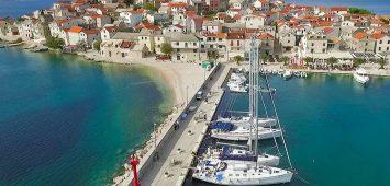 Chorwacja Primosten jesienny rejs w Chorwacji