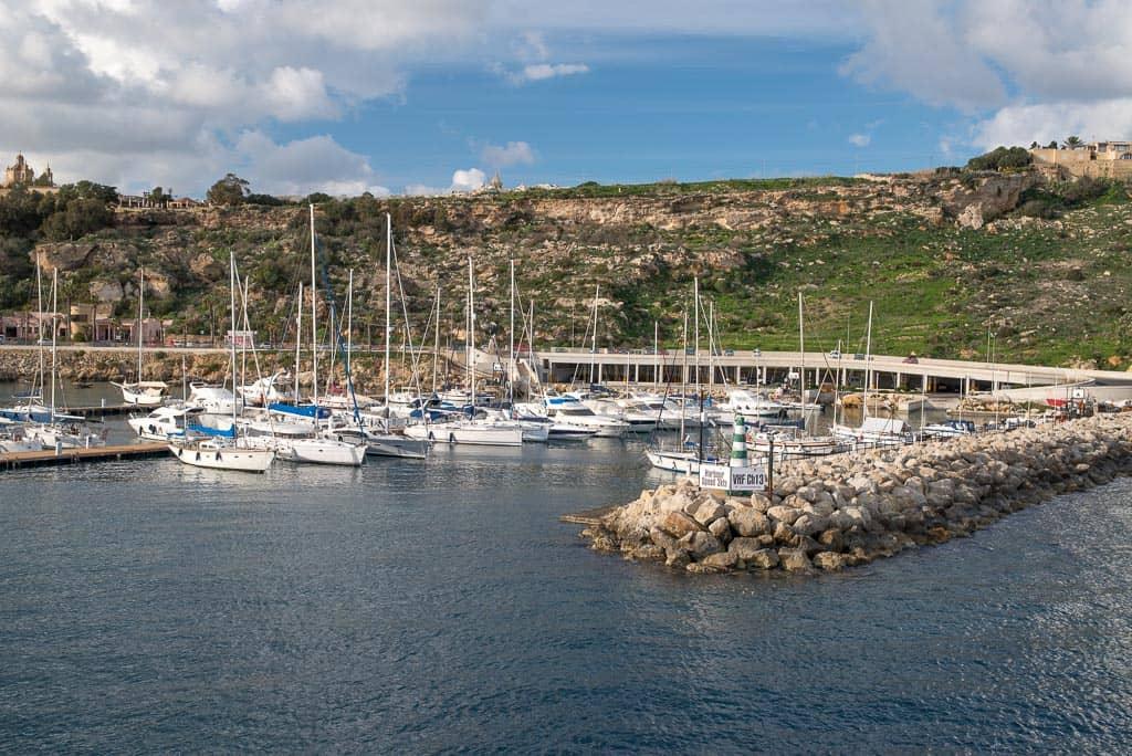 Malta - Marina Mgarr Gozo