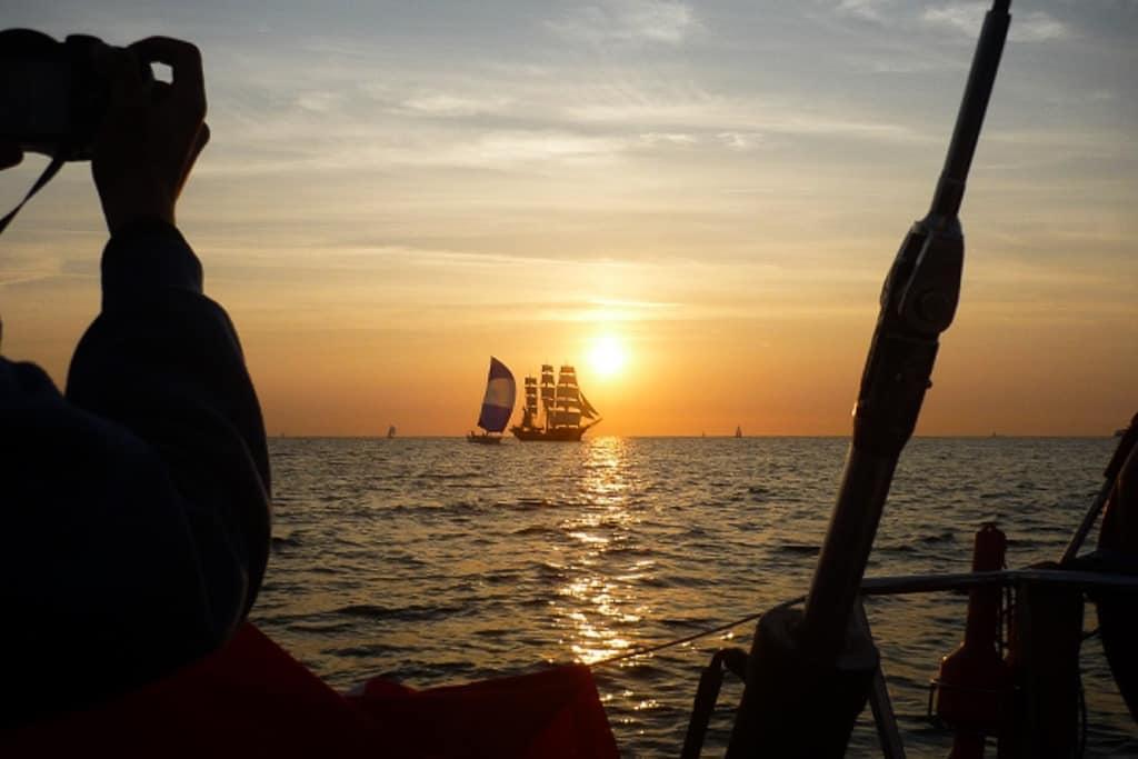 Moja przygoda the tall ships races