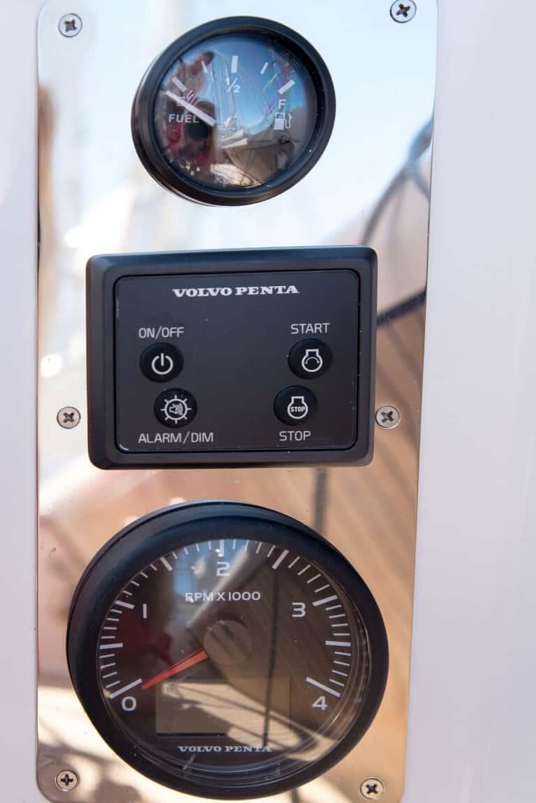 Wskaźnik poniomu paliwa, panel, obrotomierz