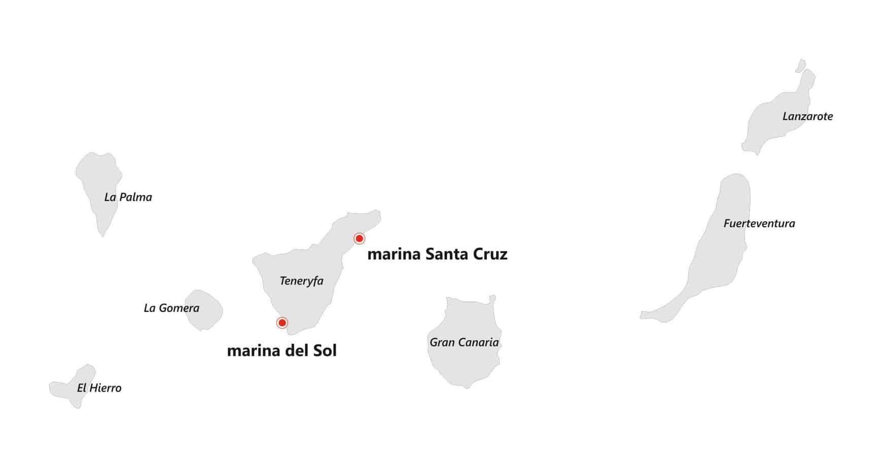 Wyspy kanaryjskie czarter jachtów