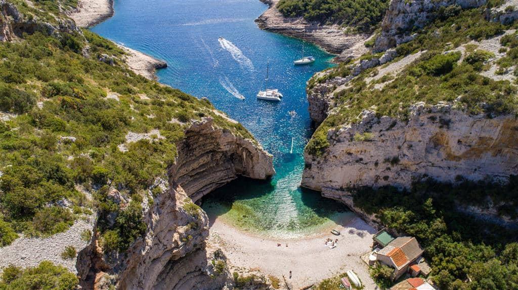 Chorwacja Vis Stiniva