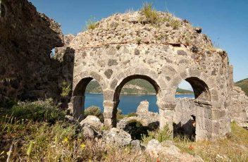 Turcja wyspa Gemiler