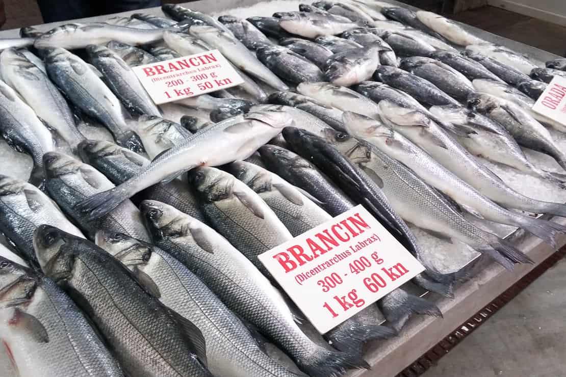 Targ rybny w Zadarze