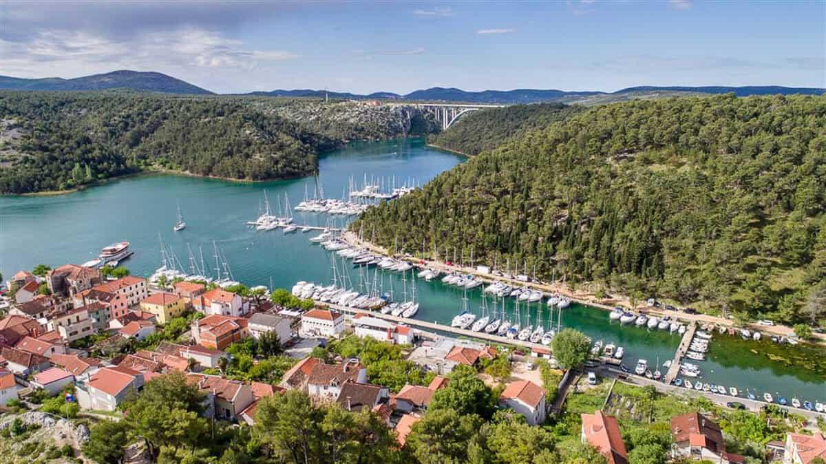 Skradin Czarter jachtów Chorwacja