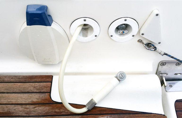 prysznic na pawęży