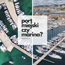 Ceny marin i portów miejskich w Chorwacji w sezonie 2018