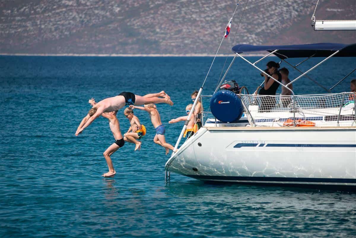 Żeglowanie z dziecmi w Chorwacji