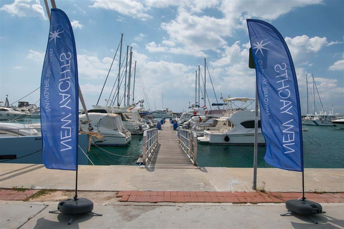Marina Agios Kosmas w Atenach - baza Navigare Yachting