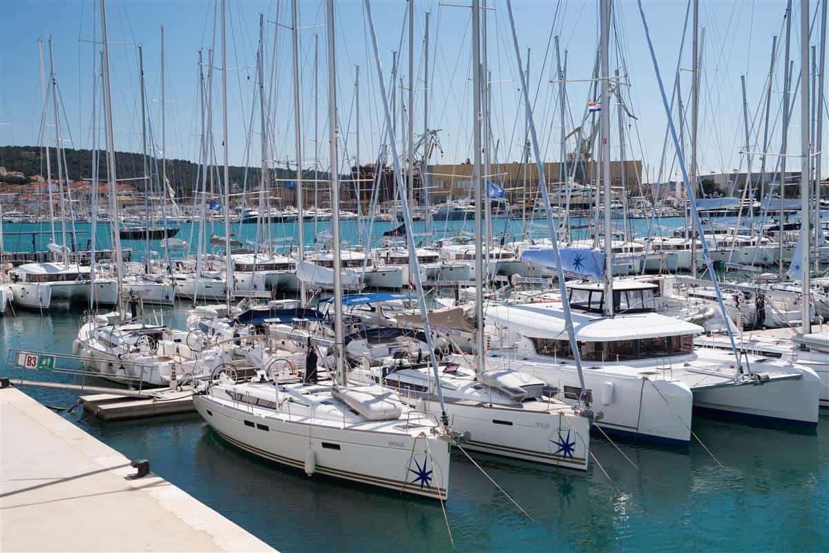 Navigare Yachting baza w Segecie - Trogir