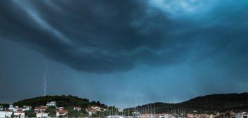 Burza w Chorwacji