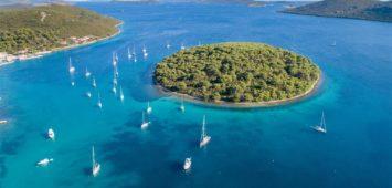 Zatoka Brgulje wyspa Molat