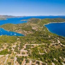 Zatoka Paladinica wyspa Rava Chorwacja