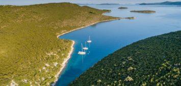 Wyspa Zverinac zatoka Kablin