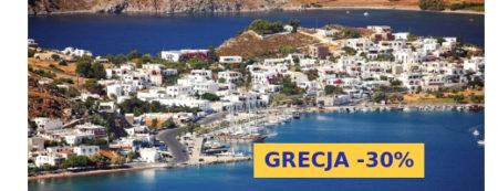 Czartery jachtów w Grecji -30%