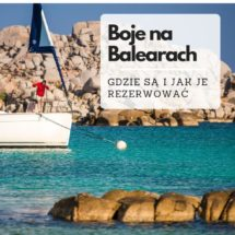 Gdzie znaleźć boje na Balearach / Majorce