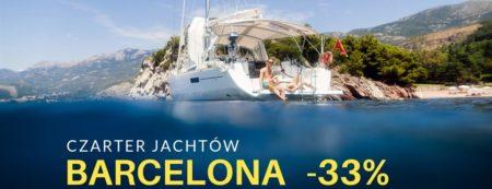 Czarter jachtów w Hiszpanii. Barcelona -33%
