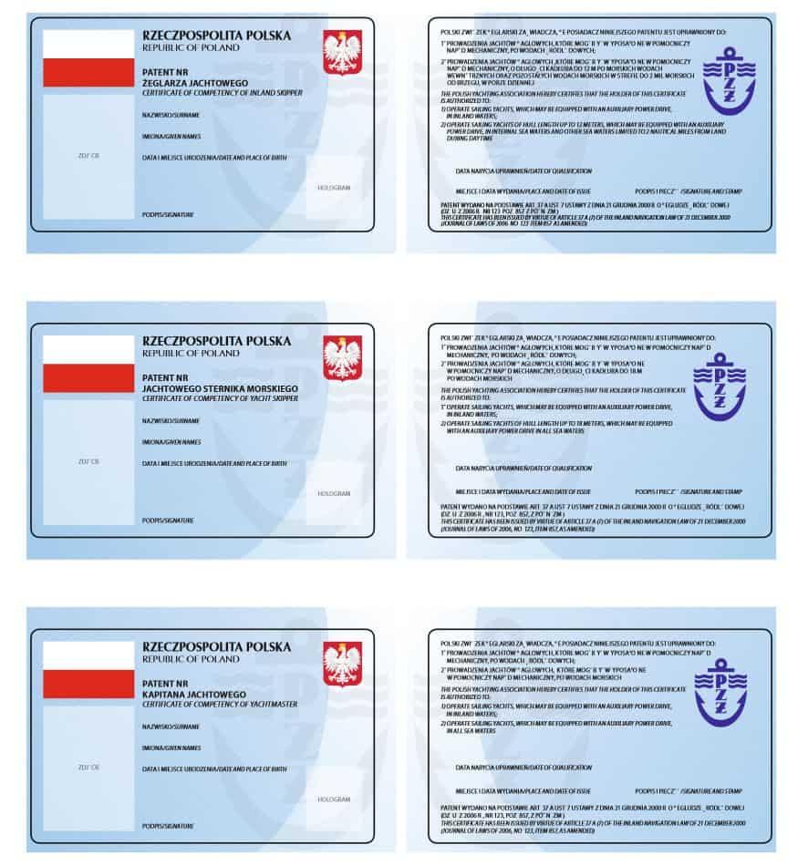 Polskie patenty żeglarskie