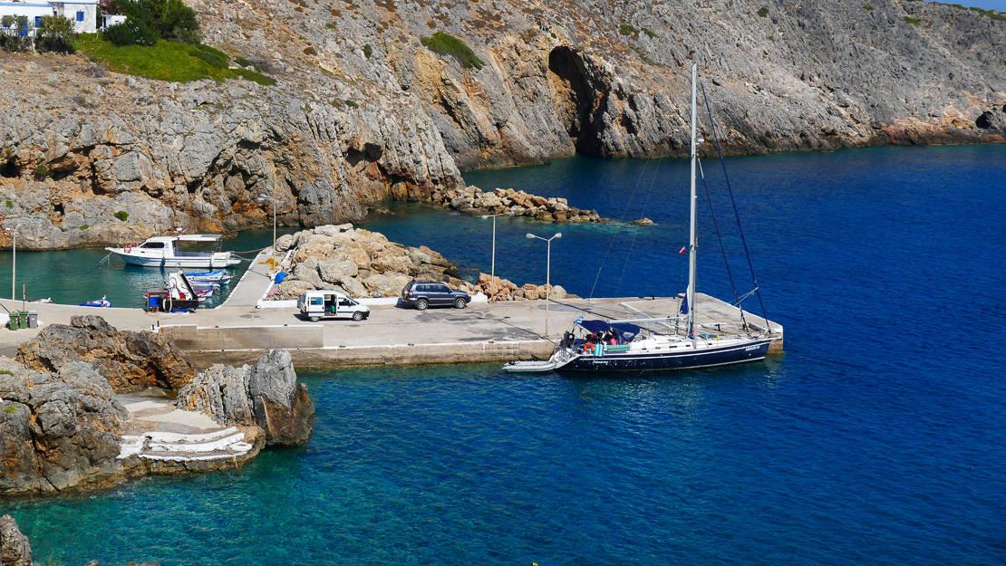 Cumowanie w Grecji longside Antikithira