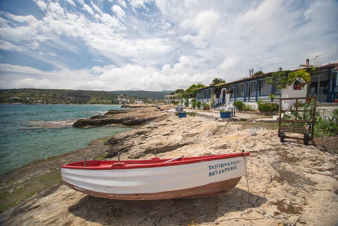 Grecja Aigina Ayia Marina