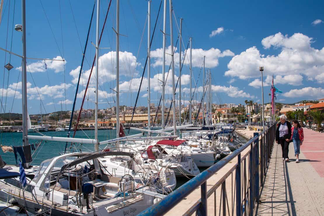 Port Lavrio - Grecja