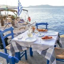 Santorini Cyklady kuchnia grecka
