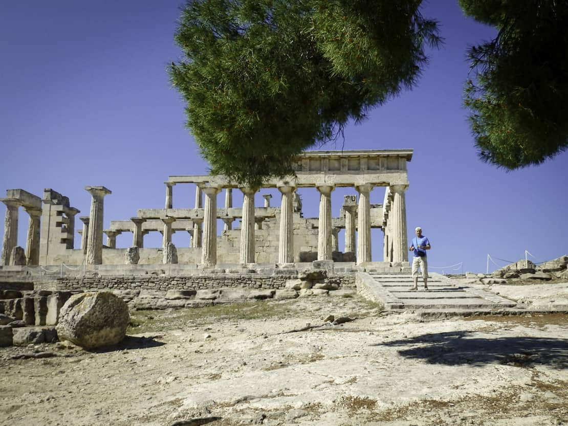 Aegina świątynia Afai