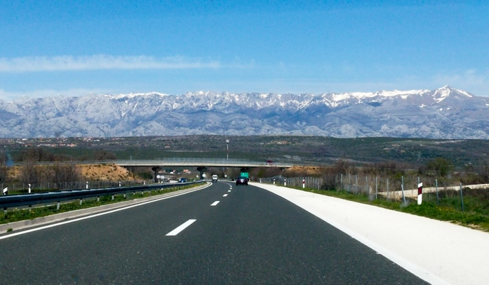 autostrada w Chorwacji