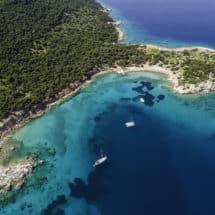 Wyspa Moni kotwicowisko Zatoka Sarońska
