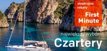 Czartery jachtów 2020 rabaty First Minute