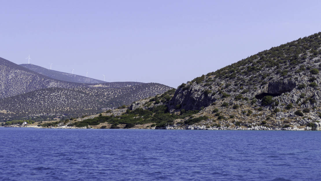 jaskinia Franhti Kilada