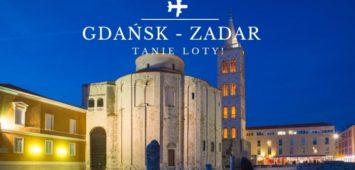 Zadar loty tanie z Gdańska