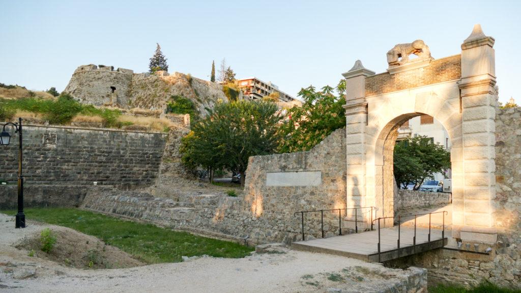 Brama do Acronafplio w Nafplio