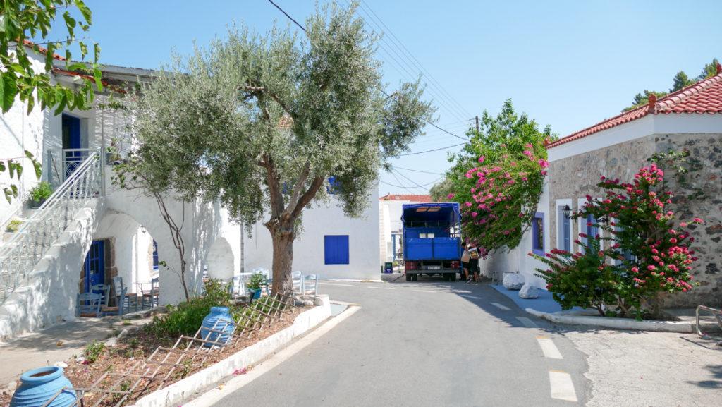 Kiparissi uliczka w Paralii