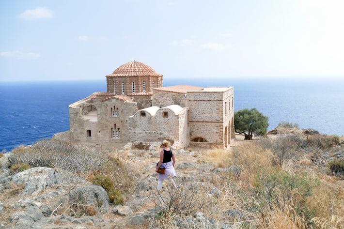 Kościół Aghia Sophia w górnym mieście