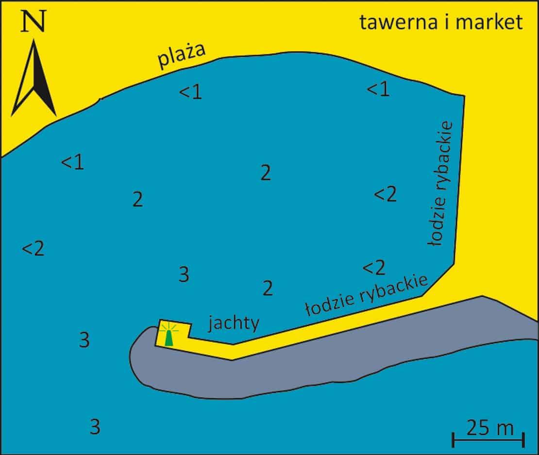 mapa portu w Sambateki