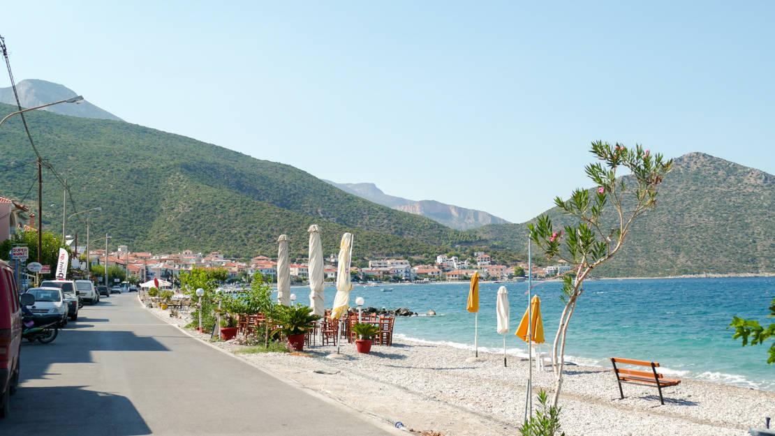 plaża na Tiros
