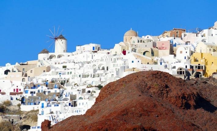 Santorini wyspa