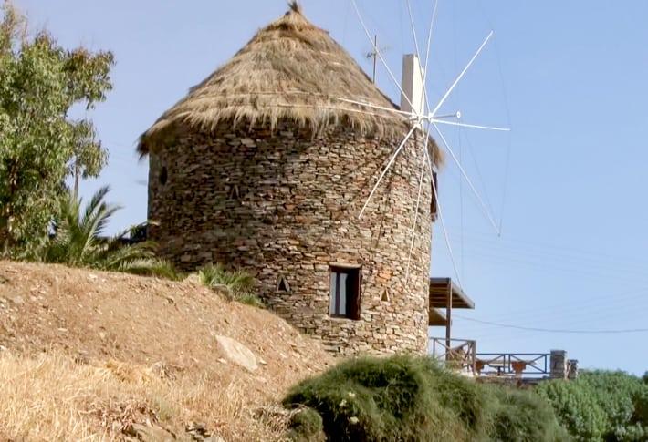 stary wiatrak na Kea