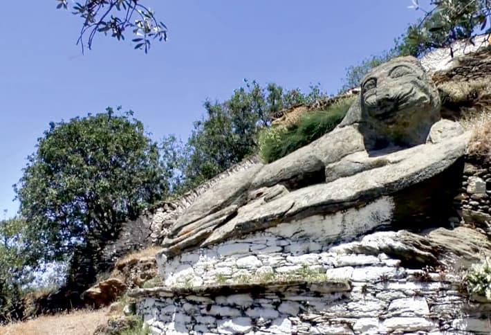 Lew symbol wyspy Kea