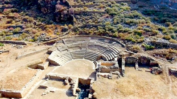 starożytna Karathia i amfiteatr