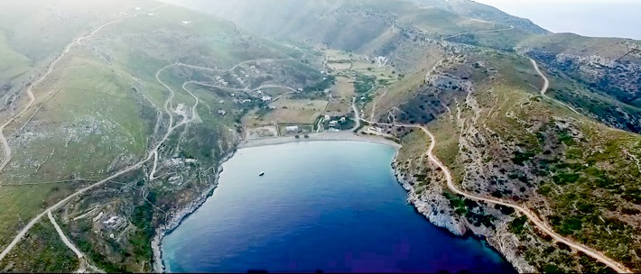 Wyspa Kea zatoka Kalydonychi