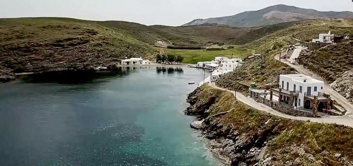 zatoka w Aghia Irini