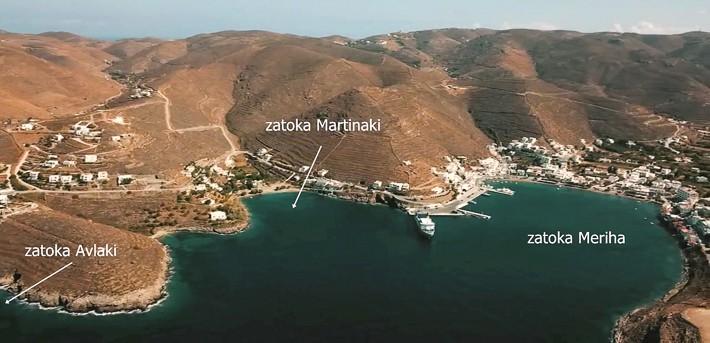 Zatoki Meriha i Martinaki