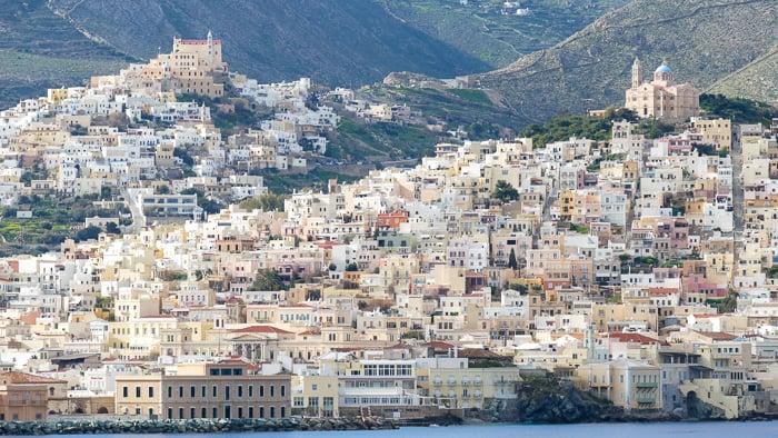 Ermoupoli wyspa Syros