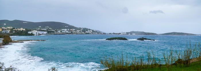 Zatoka Finika Syros Cyklady