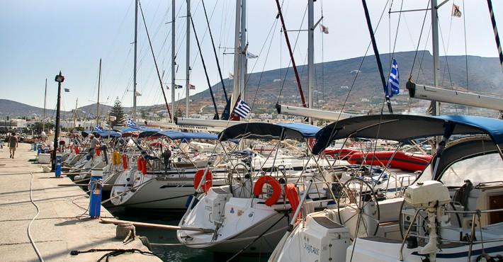 pirs port Grecja jachty