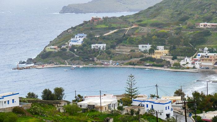 Zatoka Kini na wyspie Syros