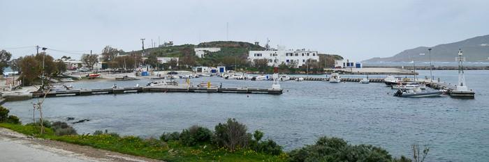 Port Posidhonia wyspa Syros